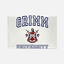 GRIMM University Rectangle Magnet