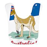 Australia Kangaroo Bib