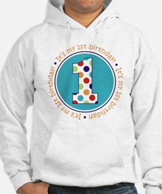 2-itsmybirthday colorful Hoodie