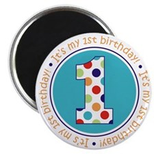 2-itsmybirthday colorful Magnet