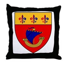 Vessel from the coat of arms Throw Pillow