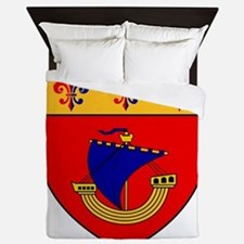 Vessel from the coat of arms Queen Duvet