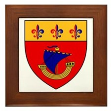 Vessel from the coat of arms Framed Tile