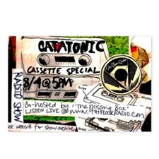 catatonic cassette tape s Postcards (Package of 8)