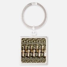 Teeth Square Keychain