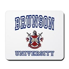 BRUNSON University Mousepad