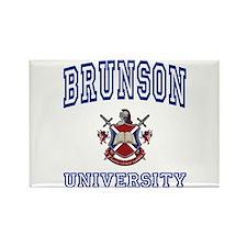 BRUNSON University Rectangle Magnet