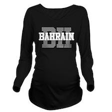 BH Bahrain Long Sleeve Maternity T-Shirt