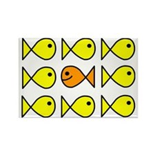 fish Rectangle Magnet