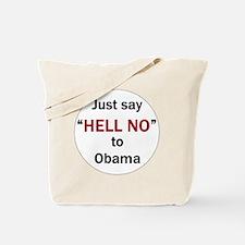 hell no Tote Bag
