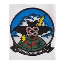vq1 patch transparent Throw Blanket