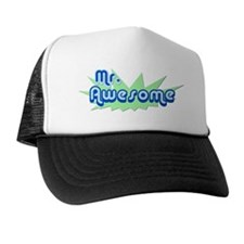 mr-awesome Trucker Hat