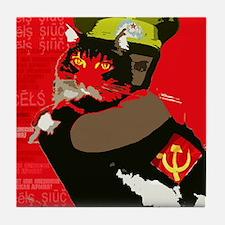 Propagandacat Tile Coaster