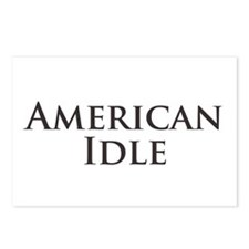 American Idle Postcards (Package of 8)