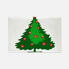 Decorated Christmas Tree Magnets