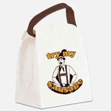 trymysausage Canvas Lunch Bag