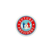 Future-President_Flattended Mini Button