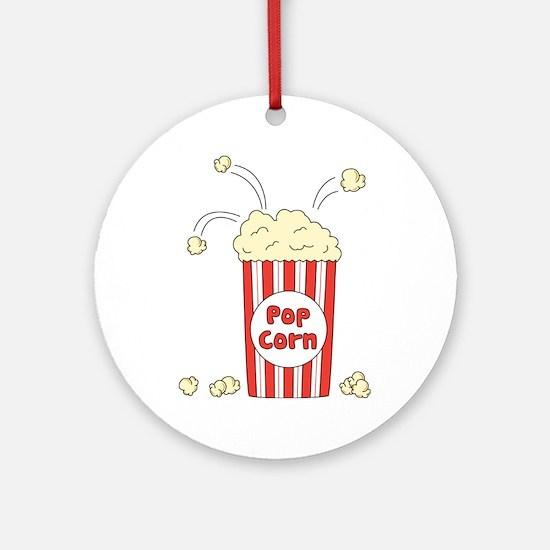 Pop Corn Ornament (Round)