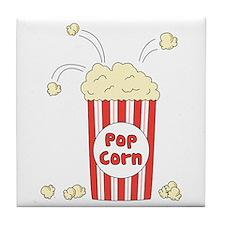 Pop Corn Tile Coaster