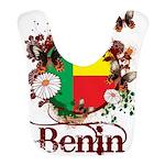 Butterfly Benin Bib