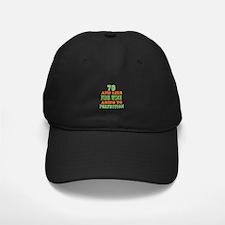 Funny 70 And Like Fine Wine Birthday Baseball Hat