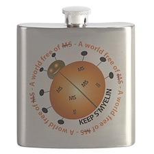 10x10_MSsmile2 Flask