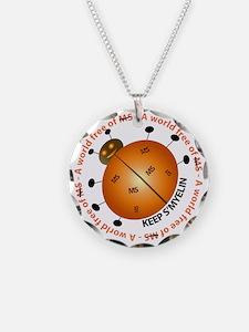 10x10_MSsmile2 Necklace Circle Charm