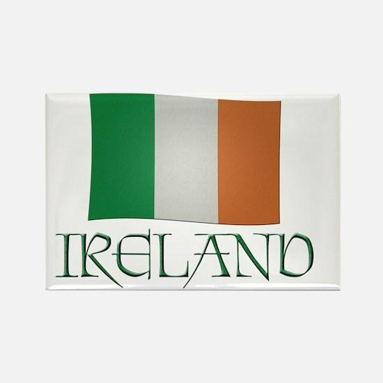 Irish-flag-Ireland Rectangle Magnet