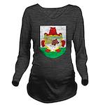 Bermuda Coat Of Arms Long Sleeve Maternity T-Shirt