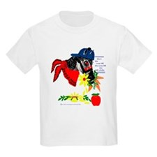Animals;turtle,horses,cow and Kids T-Shirt