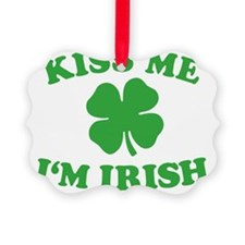Kiss Me Im Irish Ornament