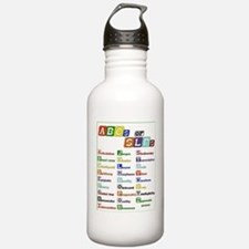 abcs of slps Sports Water Bottle
