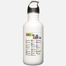 abcs of slps Water Bottle