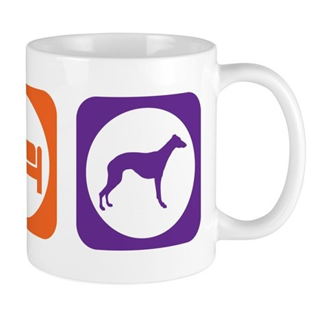 Eat Sleep Whippet Mug