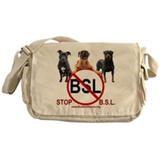 stop_bsl_trans1 Messenger Bag