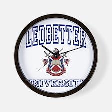 LEDBETTER University Wall Clock
