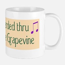 hERDED THRU THE GRAPE VINEBUMPER STICKE Mug