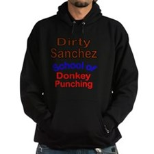 2-Dirty Sanchez transparent Hoodie