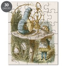 Alice and the Caterpillar Puzzle