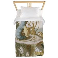 Alice and the Caterpillar Twin Duvet