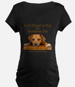 dont_breed_or_buy_puppy_1a- T-Shirt