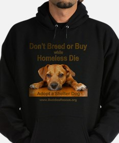 dont_breed_or_buy_puppy_1a-trans Hoodie (dark)