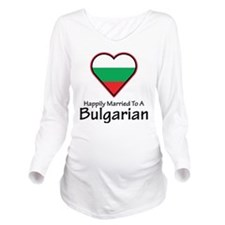 Happily Married Bulgarian Long Sleeve Maternity T-