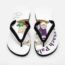 Pesach Pals Flip Flops