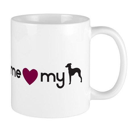 Love My Italian Greyhound Mug