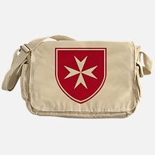 Cross of Malta - Red Shield Messenger Bag