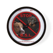 2-stop_bsl Wall Clock