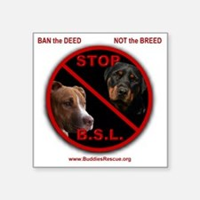 "2-stop_bsl Square Sticker 3"" x 3"""