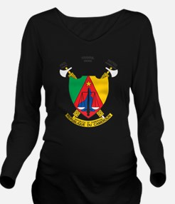 Cameroon Coat Of Arms Long Sleeve Maternity T-Shir