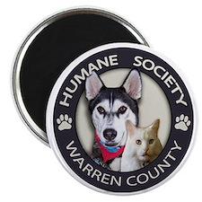 Humane Society of Warren County Lucas Logo Magnet